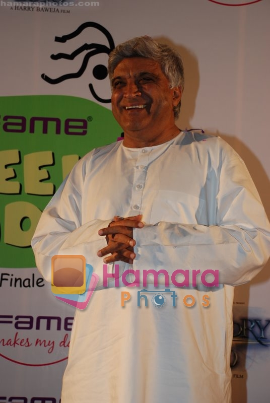 Javed Akhtar at Interaction with Kids at Fame, Andheri on June 27th 2008