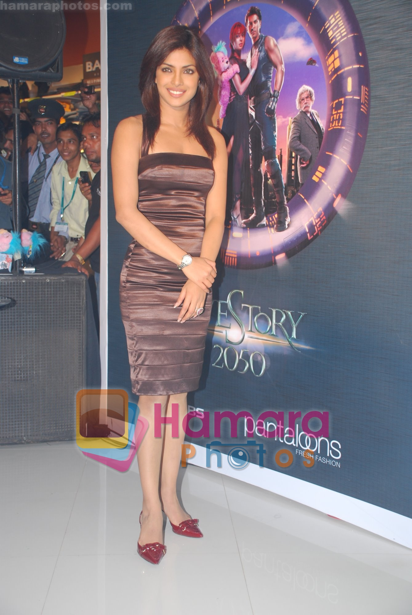 Priyanka Chopra at the Pantaloons Promotional Event for Love Story 2050 on June 28th 2008