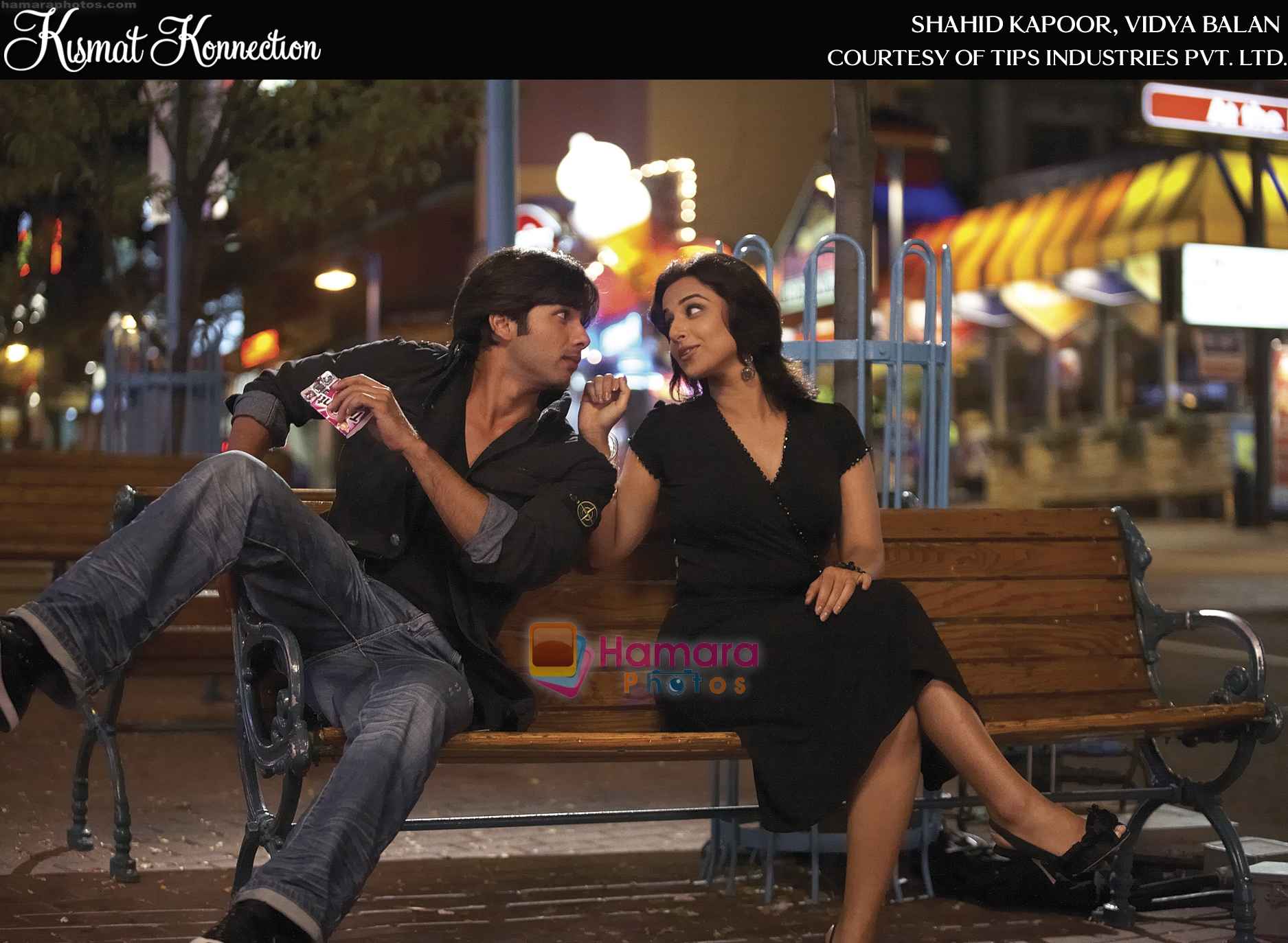 Shahid Kapoor, Vidya Balan in a High Quality Still from Kismat Konnection Movie