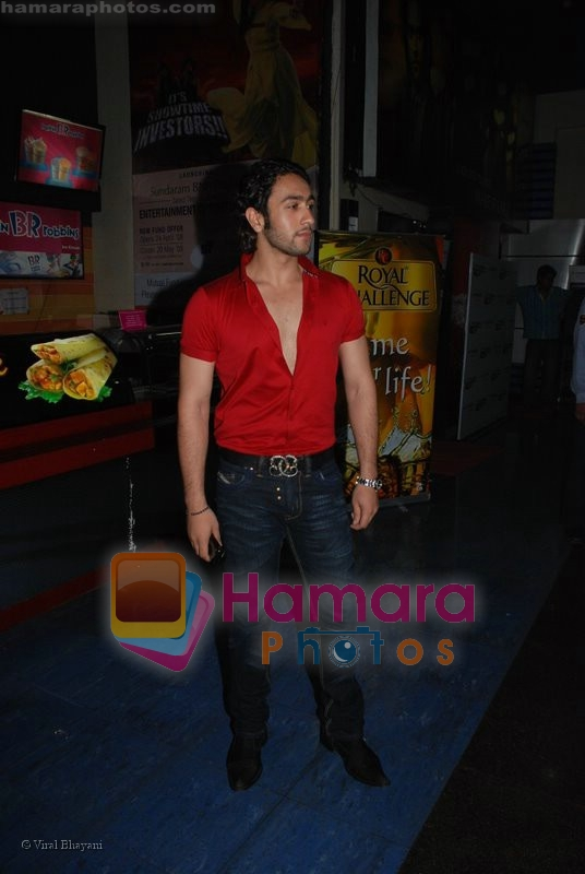 Adhyayan Suman at the Hancock premiere in Fame Adlabs on July 7th 2008