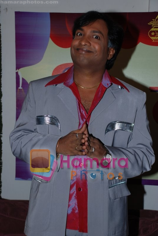 Sunil Pal at the Mahurat of Bhavanao Ko Samjho in Jogeshwari on July 11th 2008