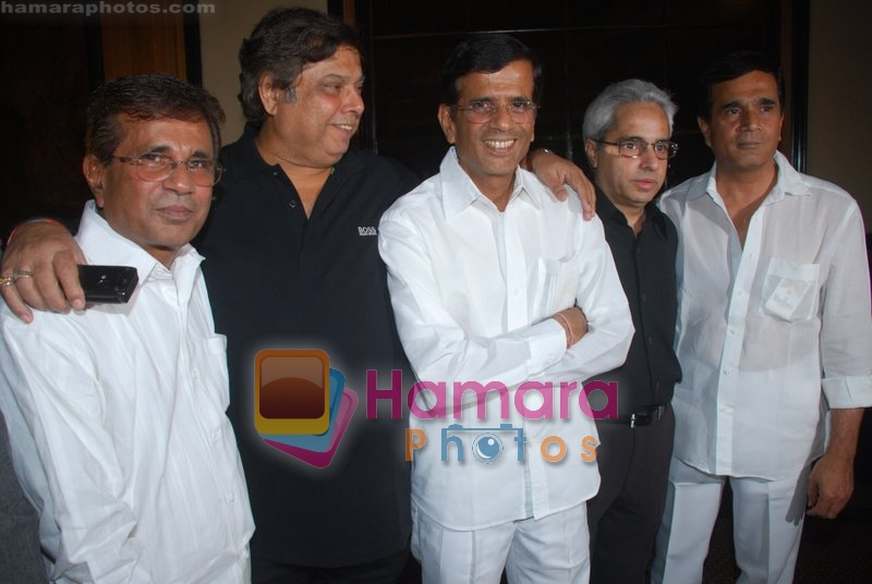 Abbas Mastan, David Dhawan at Man Gaye Mughal-e-Azam Music Launch in Taj Land's End on July 19th 2008