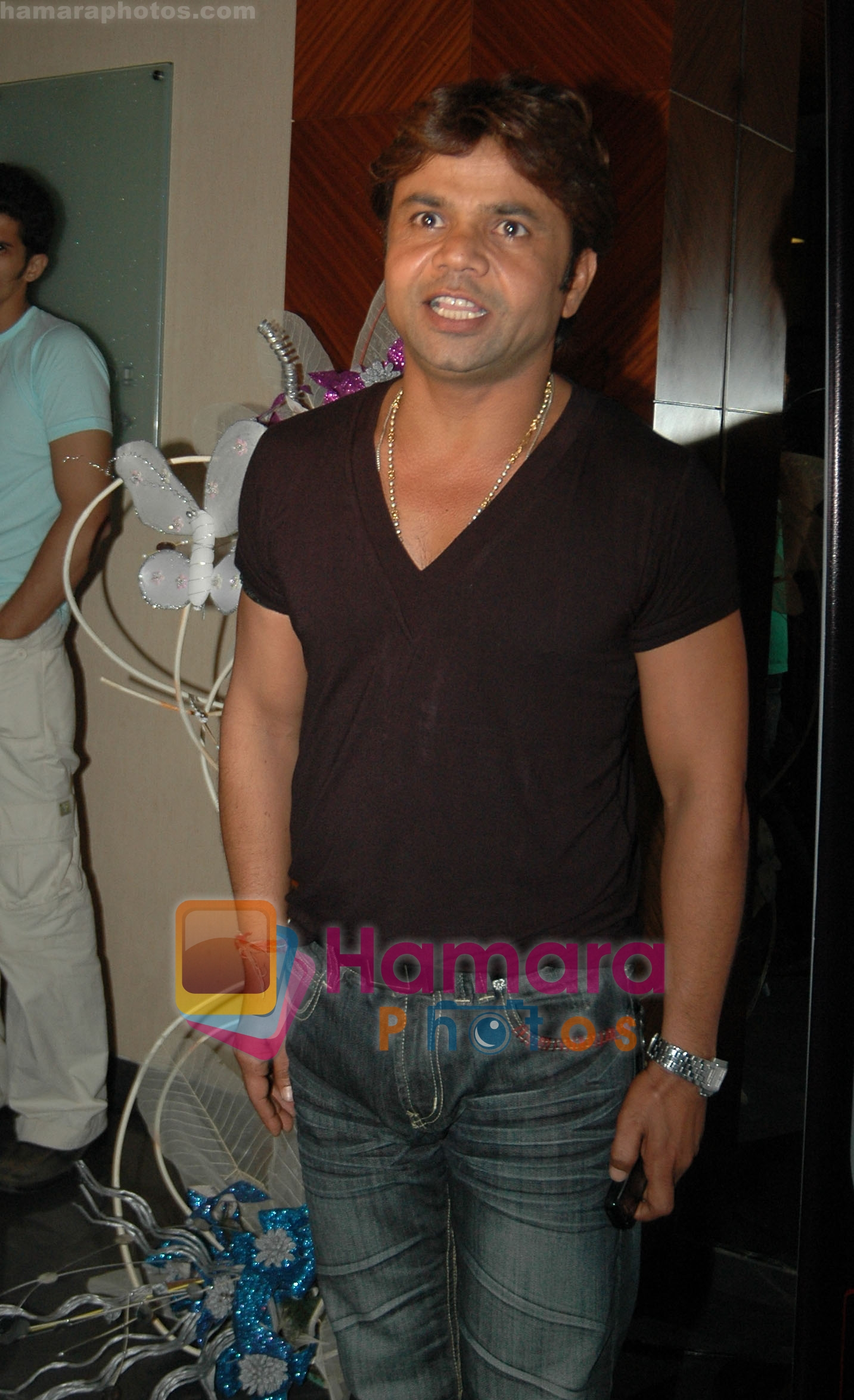 Rajpal Yadav at Vikas Kanoi Bash on 24th July 2008