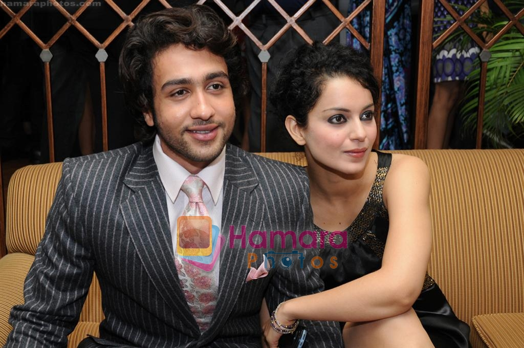 Adhyayan Suman, Kangana Ranaut at the Kenzo store launch in JW Marriott on 8th September 2008