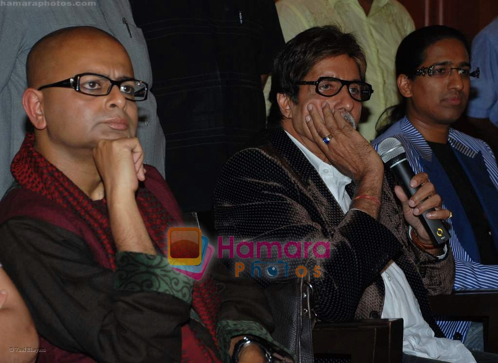 Rituparno Ghosh, Amitabh Bachchan, Arindam Chaudhuri at Last Lear press meet in JW Marriott on 10th September 2008