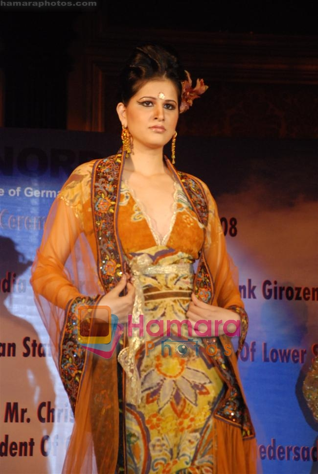 at Norddeutsche Lands Bank presents a Fashion Show by Pria Kataria Puri in Taj Crystal Room on 3rd october 2008
