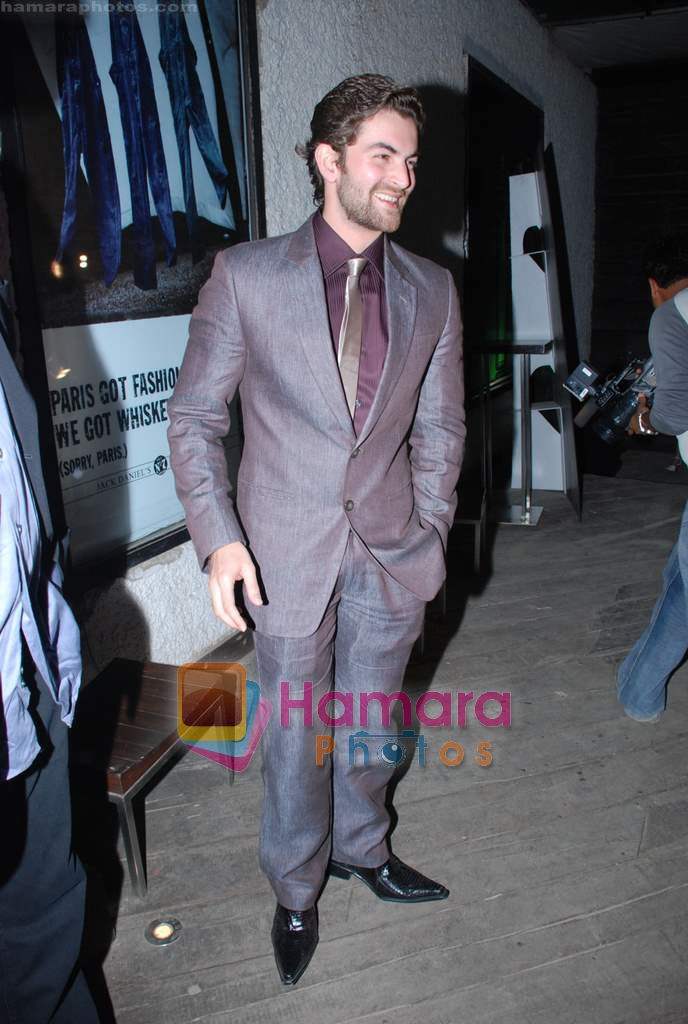 Neil Mukesh at Fashion success party in Vie Lounge on 14th November 2008
