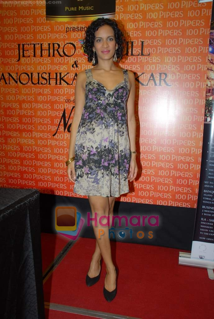 Anoushka Shankar at the Press Meet in Sahara Star on 4th December 2008