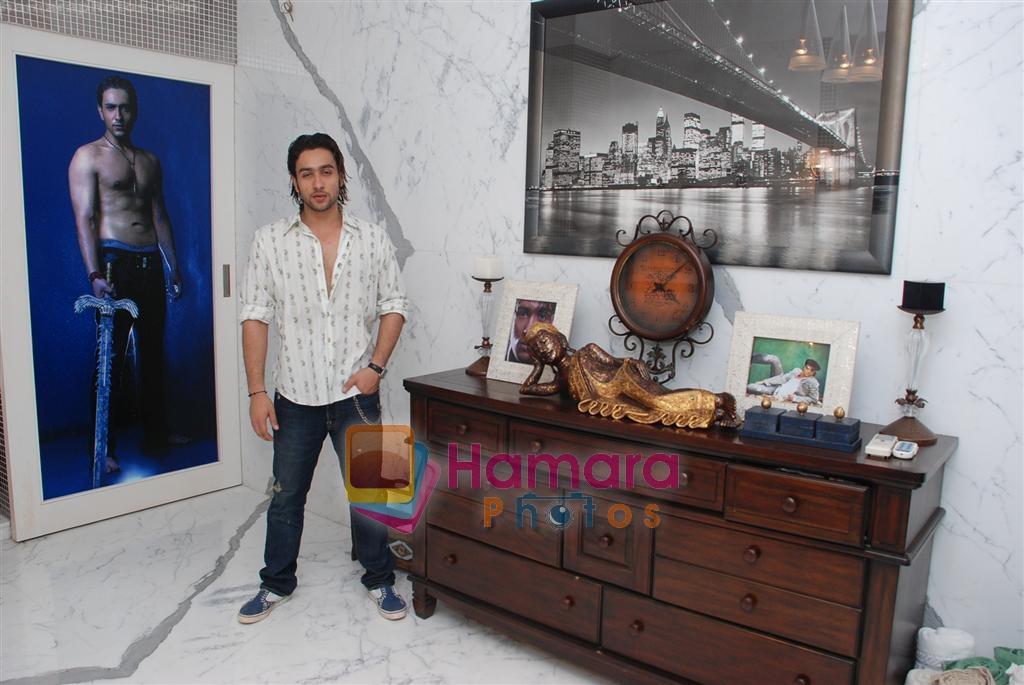 Adhyayan Suman at Home on 7th December 2008