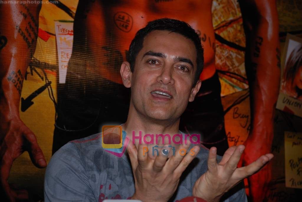 Aamir Khans six pack secret in Ghajini revealed with trainer Satya in Barbarian Gym on 14th December 2008