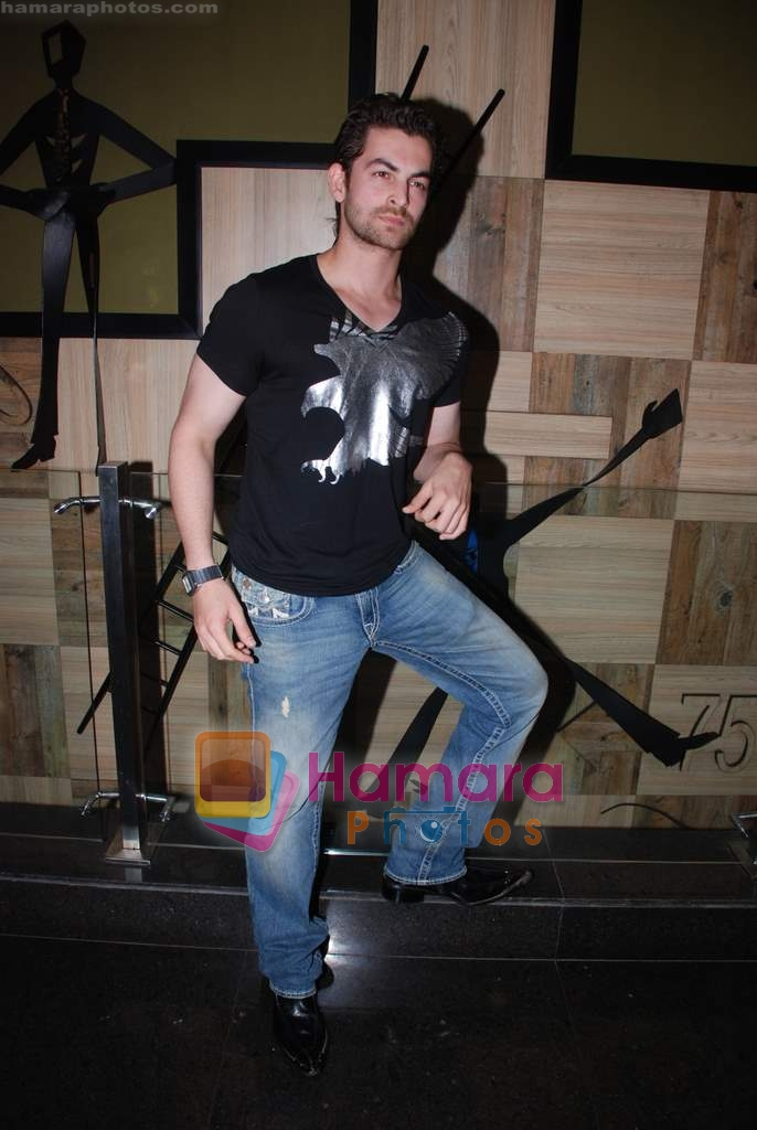 Neil Nitin Mukesh at Spinnathon event in Penninsula Park on 15th December 2008