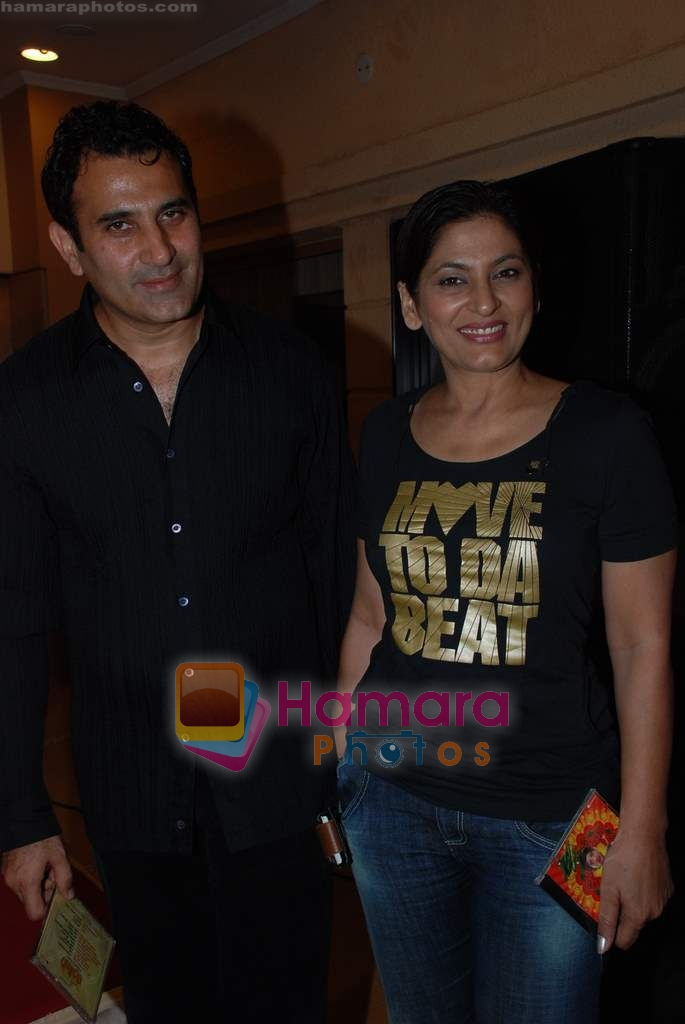 Parmeet Sethi, Archana Puran Singh at the Audio release of Badluck Govind in Country Club on 17th December 2008