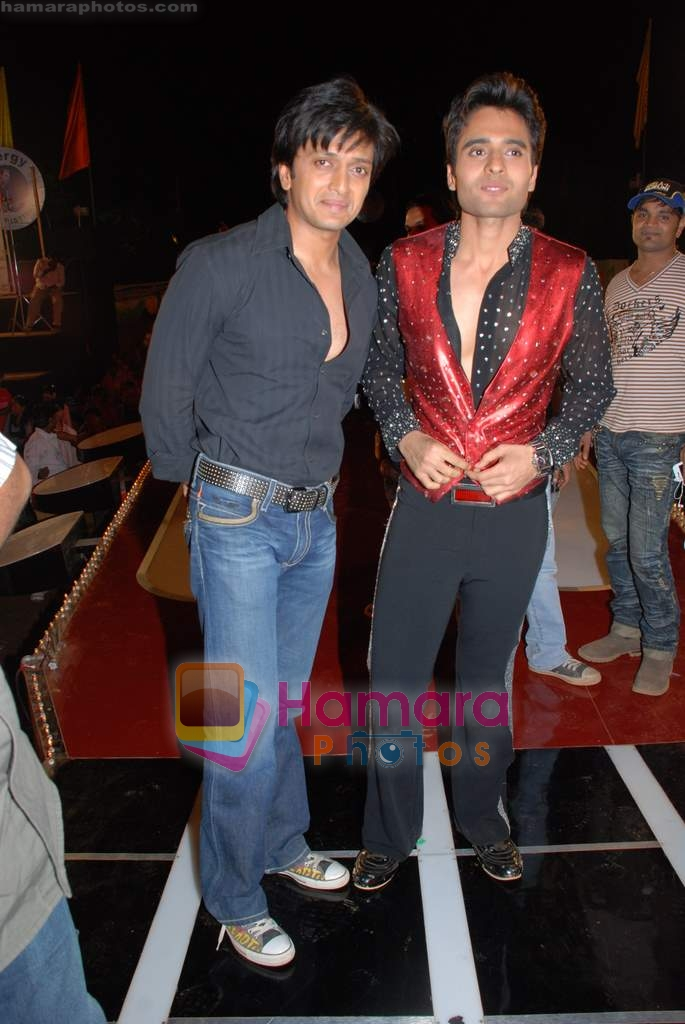 Ritesh Deshmukh, Jackie Bhagnani at the launch of Vashu Bhagnani's son - Jackie in Film City on 24th December 2008