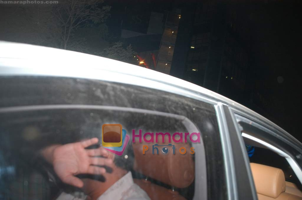 Aditya Chopra at exclusive screening of Ghajini in PVR on 24th December 2008