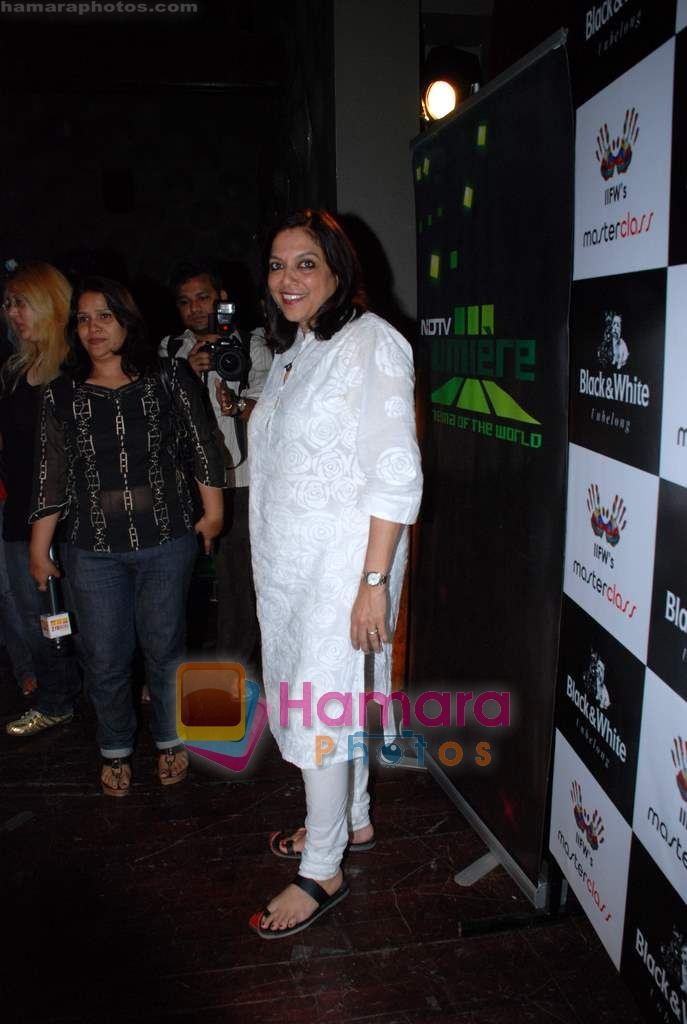 Mira Nair at IIFW Masterclass directors meet in Blue Frog on 27th December 2008