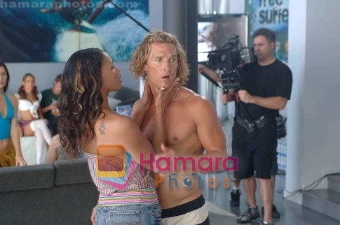 Matthew McConaughey in still from the movie Surfer, Dude