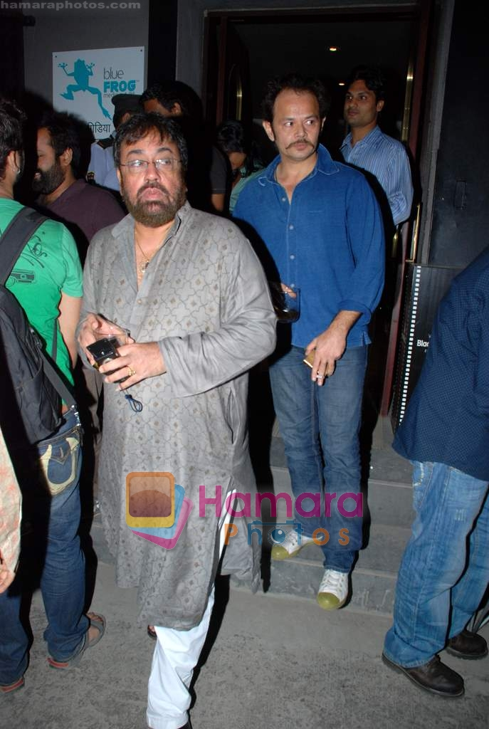 at IIFW Masterclass directors meet in Blue Frog on 27th December 2008