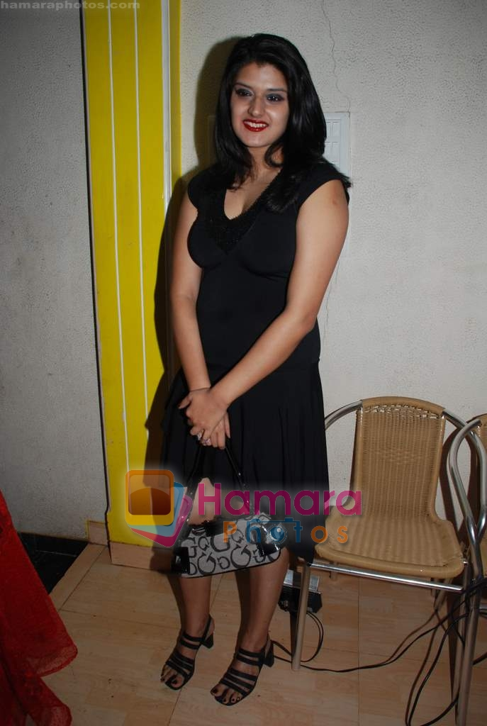 Megha Chatterjee at Baby Ananya's birthday bash in Jogeshwari on 27th December 2008