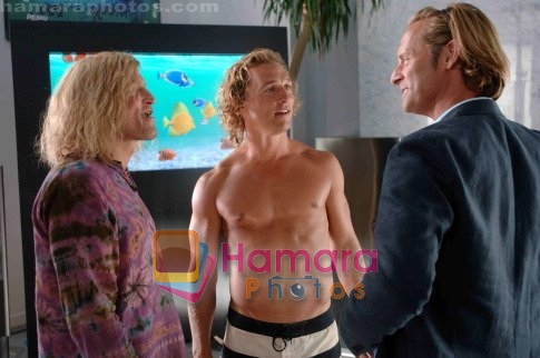 Matthew McConaughey, Jeffrey Nordling in still from the movie Surfer, Dude