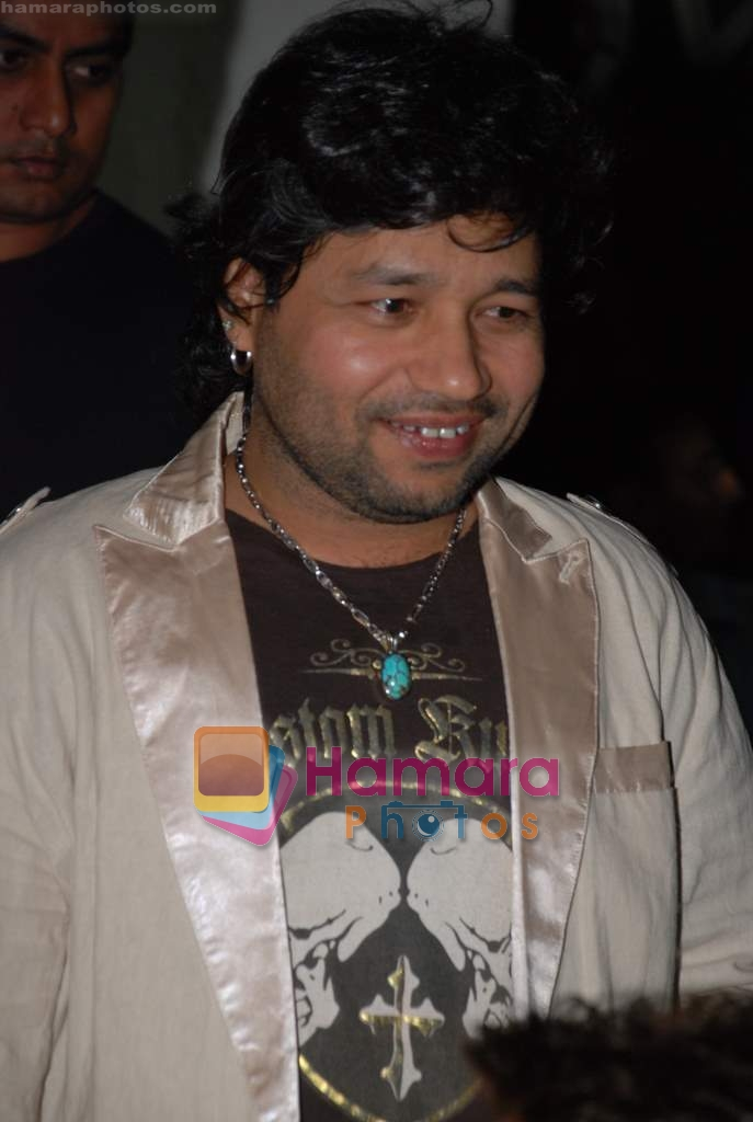 Kailash Kher at Victory film music launch in Vie Lounge on 28th December 2008