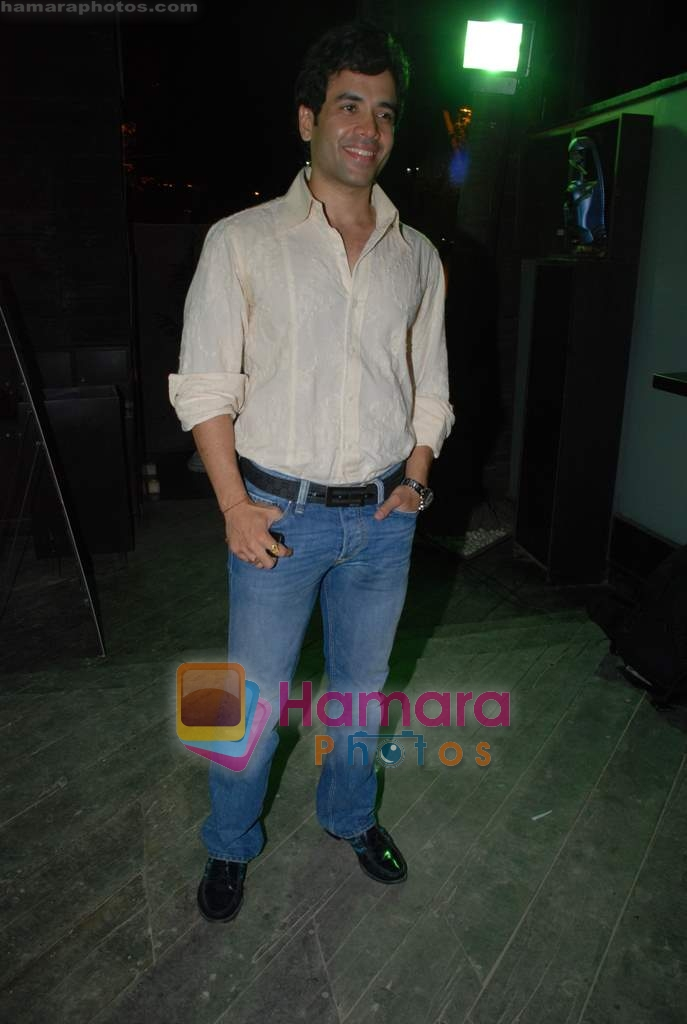 Tusshar Kapoor at Victory film music launch in Vie Lounge on 28th December 2008