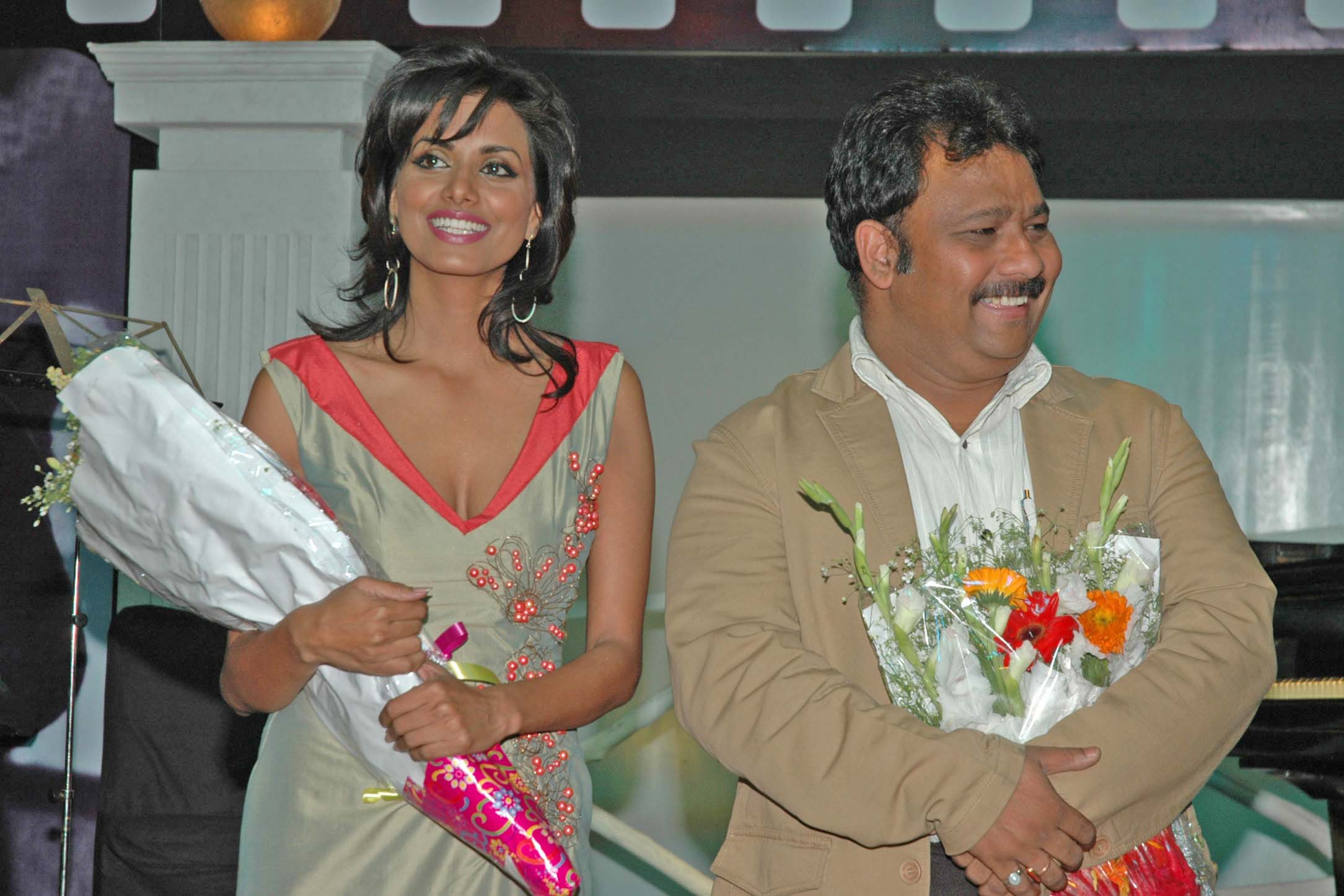 Ritu Singh, Atul Gangwar at the launch of film Jalebi Culture on 28th Dec 2008