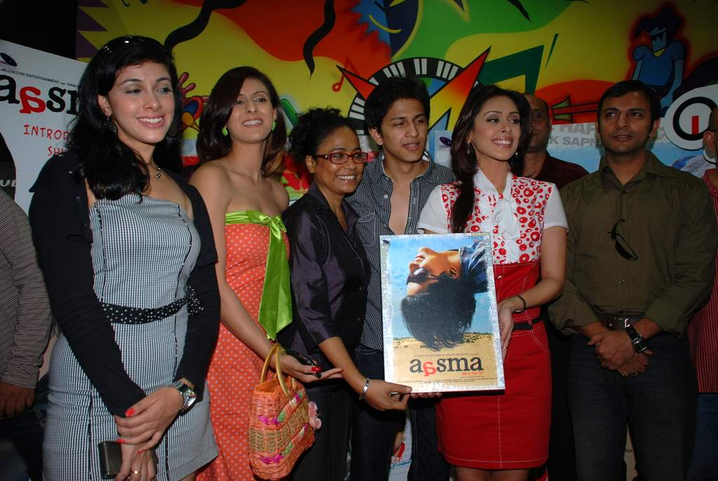 Rajkumar Santoshi, Subhashish Mukherjee, Hrishita Bhatt, Seema Biswas, Joy Sengupta at the Audio release of Aasma - The Sky Is The Limit in Planet M on 30th December 2008