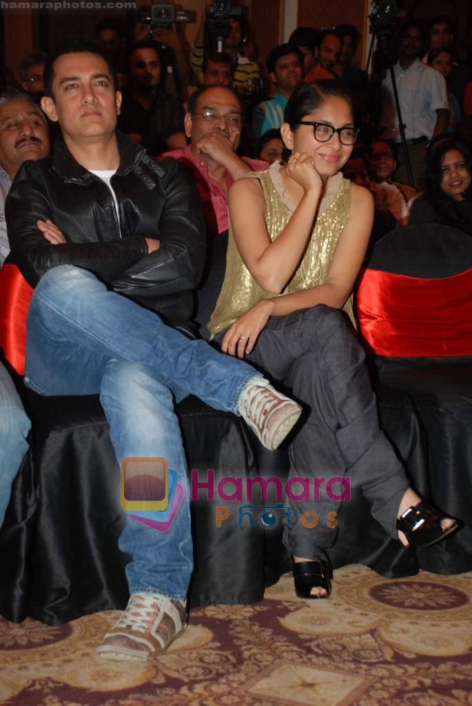 Aamir Khan, Kiran Rao at Ghajini success bash in Taj land's End on 30th December 2008