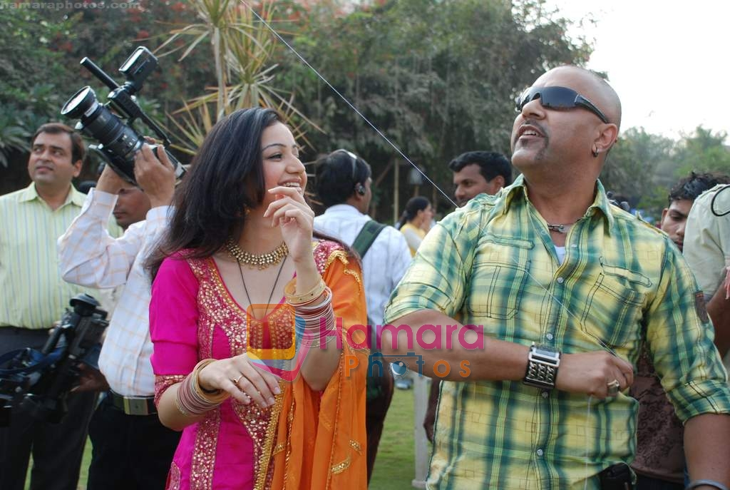 Muskaan Mehani, Baba Sehgal at Sab TV Makarsankranti celebrations on 8th Jan 2009