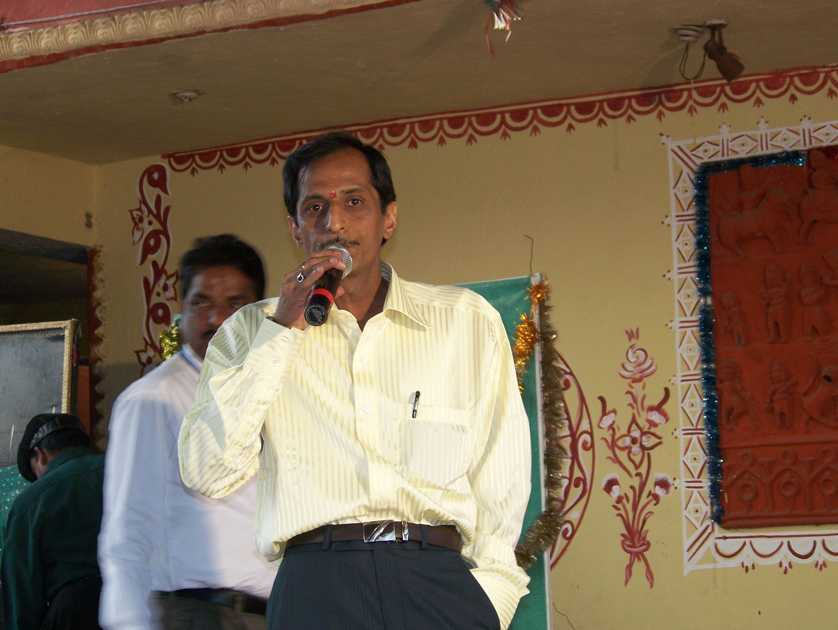 A S Murty at PADHARO SE musical show on 25th December 2008