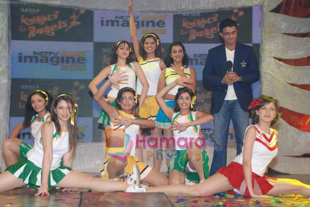 Saurav Ganguly at Knight Angels show launch in NDTV Imagine on 20th Feb 2009