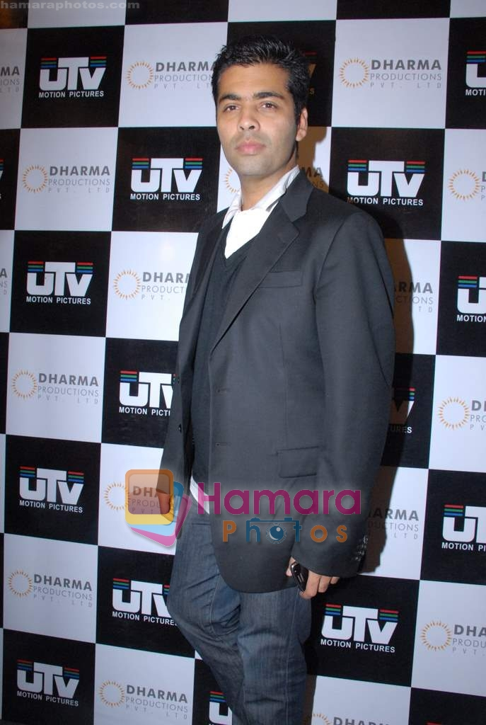 Karan Johar ties up with UTV for distribution in J W Marriott on 9th March 2009