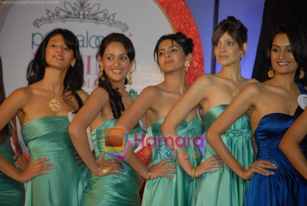 Femina Miss India contestants in Sahara Star on 9th March 2009