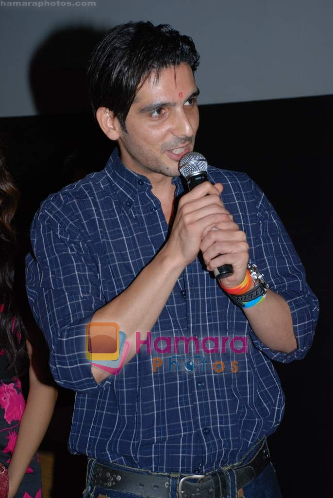 Zayed Khan at music launch of Kal Kisne Dekha in Cinemax on 12th March 2009