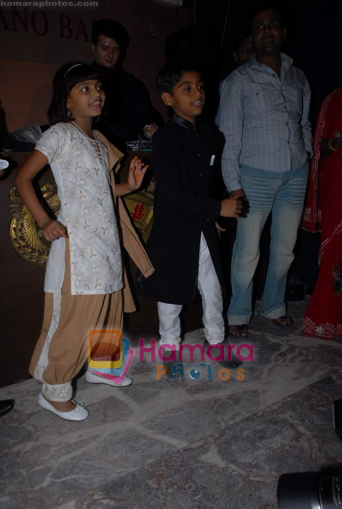 Slumdog Millionaire Kids at Asif Bhamla's bash in China House on 13th March 2009
