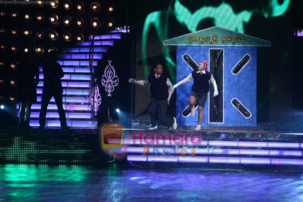 on location of Jhalak Dikhla Ja 4 in Filmistan on 14th March 2009