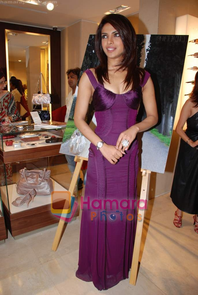Priyanka Chopra at the launch of L_Officiel Magazine in Trident on 17th March 2009