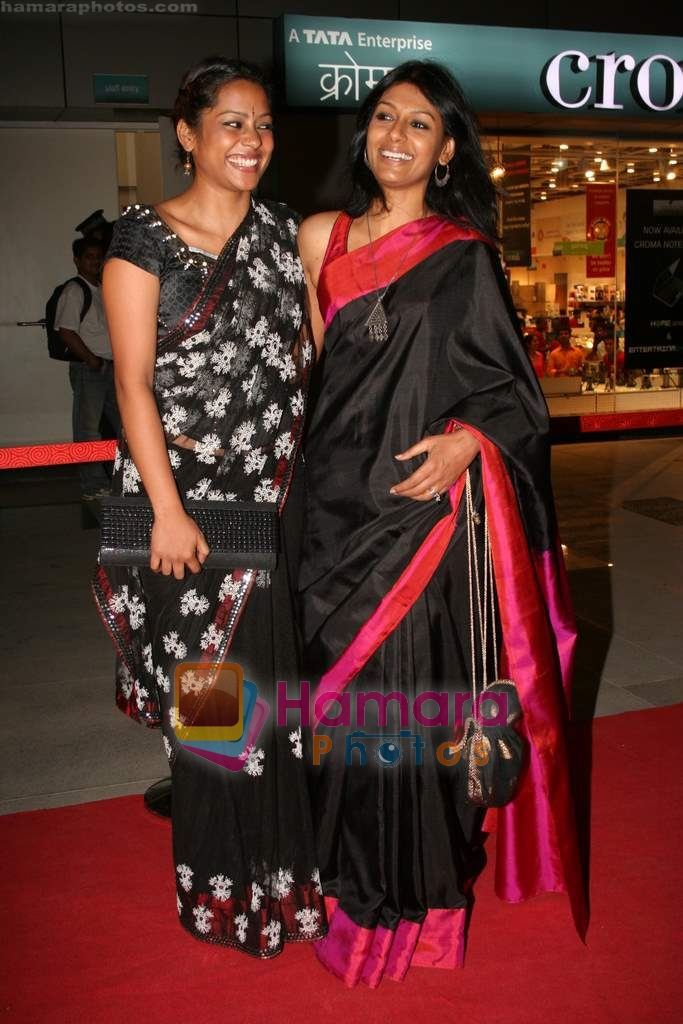 Shahana Goswami, Nandita Das at the Premiere of Firaaq in PVR on 19th March 2009