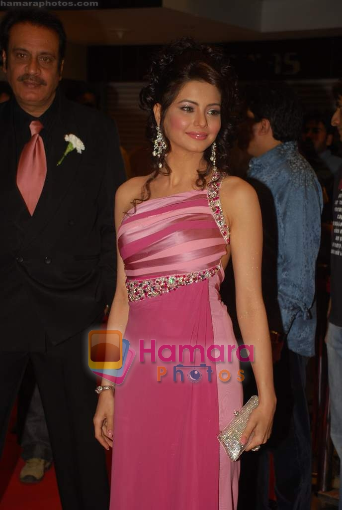 Aamna Shariff at the Premiere of Aloo Chaat in PVR, Juhu on 19th March 2009