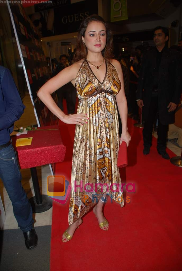 Linda Arsenio at the Premiere of Aloo Chaat in PVR, Juhu on 19th March 2009