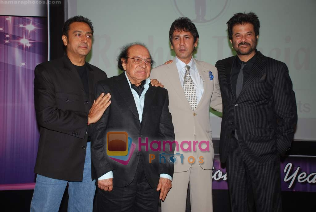 Anil Kapoor, Gulshan Grover at Roshan Taneja's birthday in ITC Grand Maratha on 21st March 2009