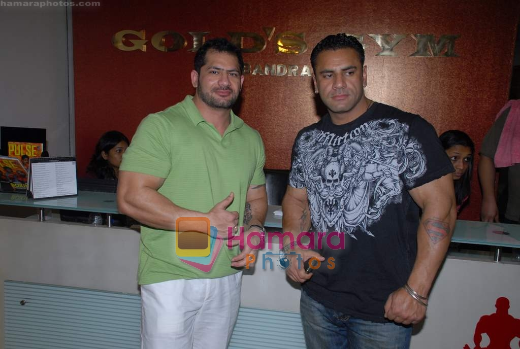 at Gold Gym event in Bandra on 23rd March 2009