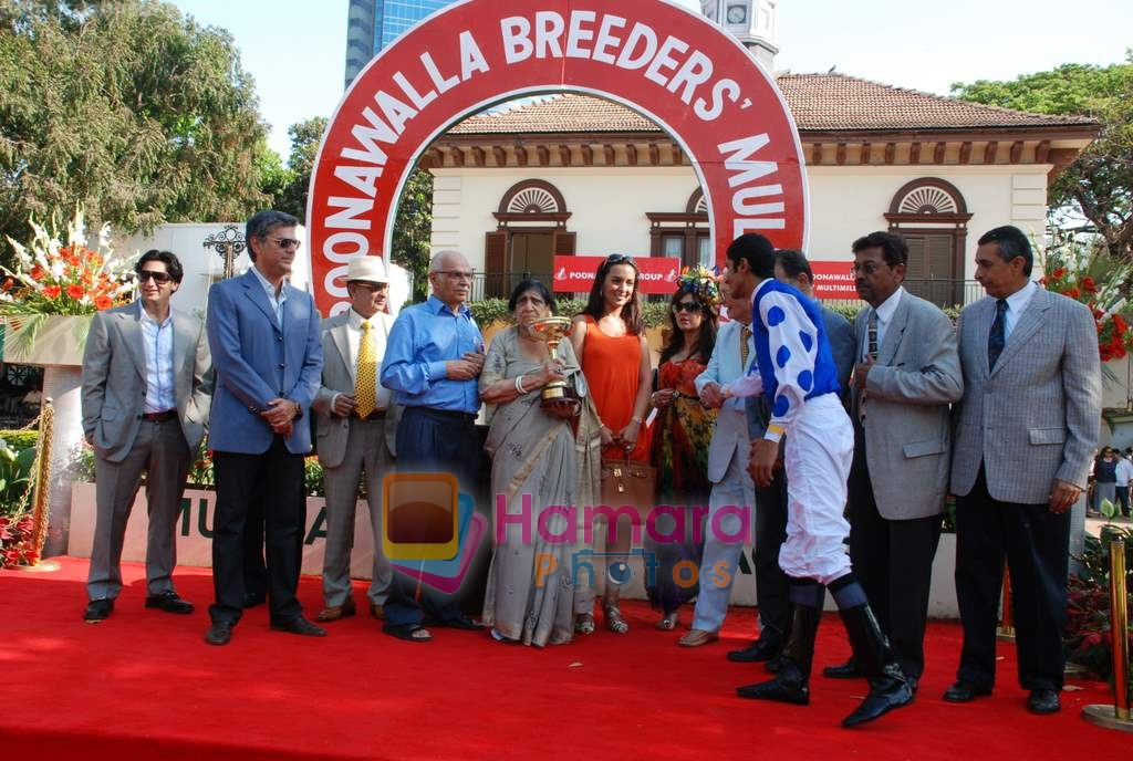 at Poonamwala Million Breeders in Mahalaxmi Race Course on 22nd March 2009