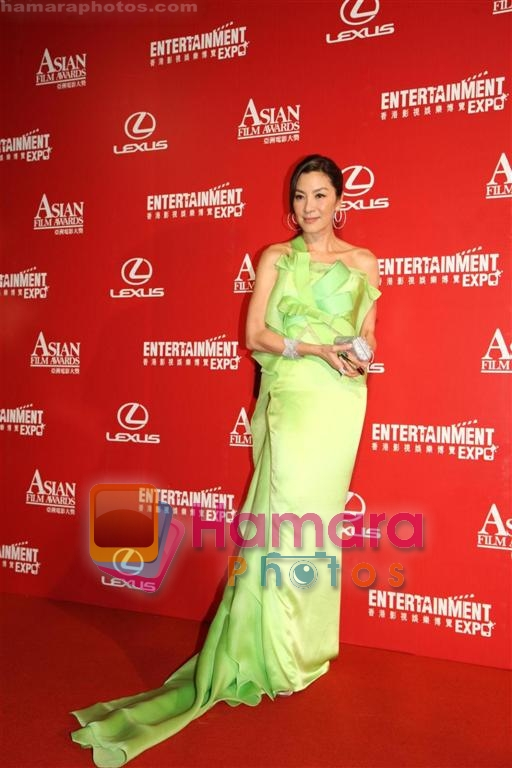 at Asian Film Awards in Hong Kong on 23rd March 2009