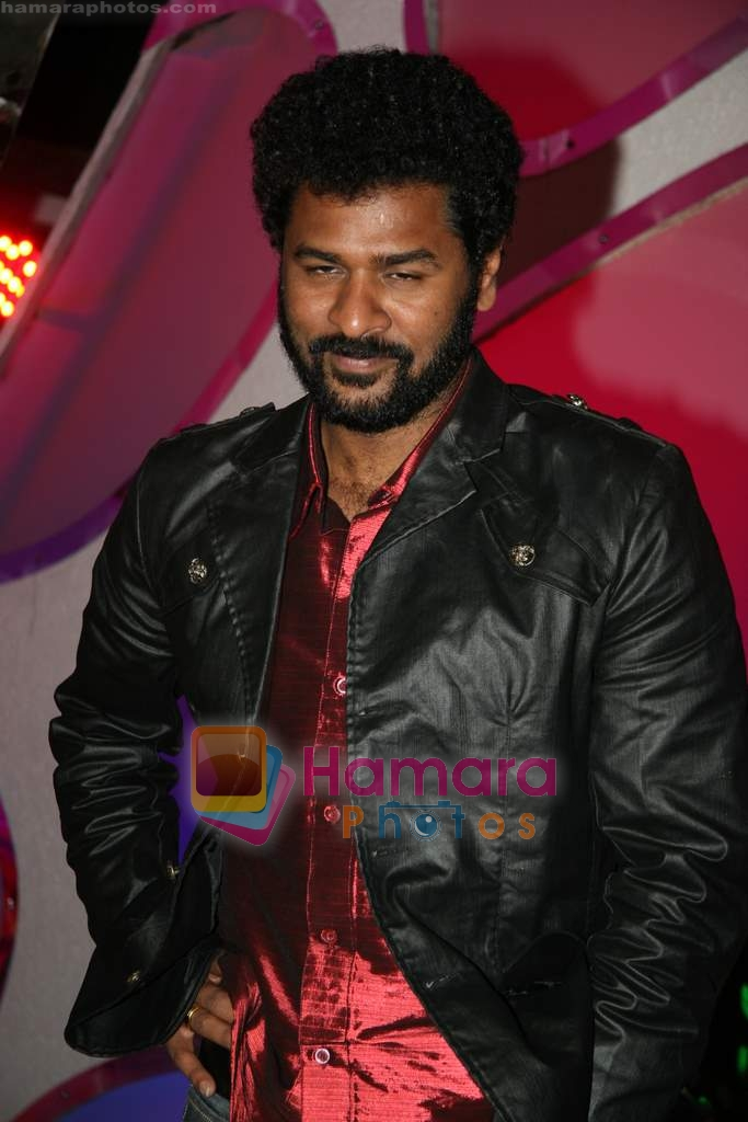 Prabhu Deva on the sets of Dance India Dance in Famous Studios on 23rd March 2009