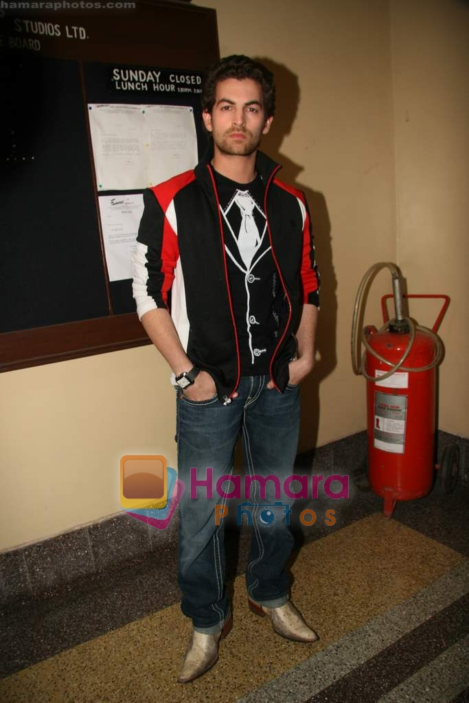 Neil Nitin Mukesh on the sets of Dance India Dance in Famous Studios on 23rd March 2009