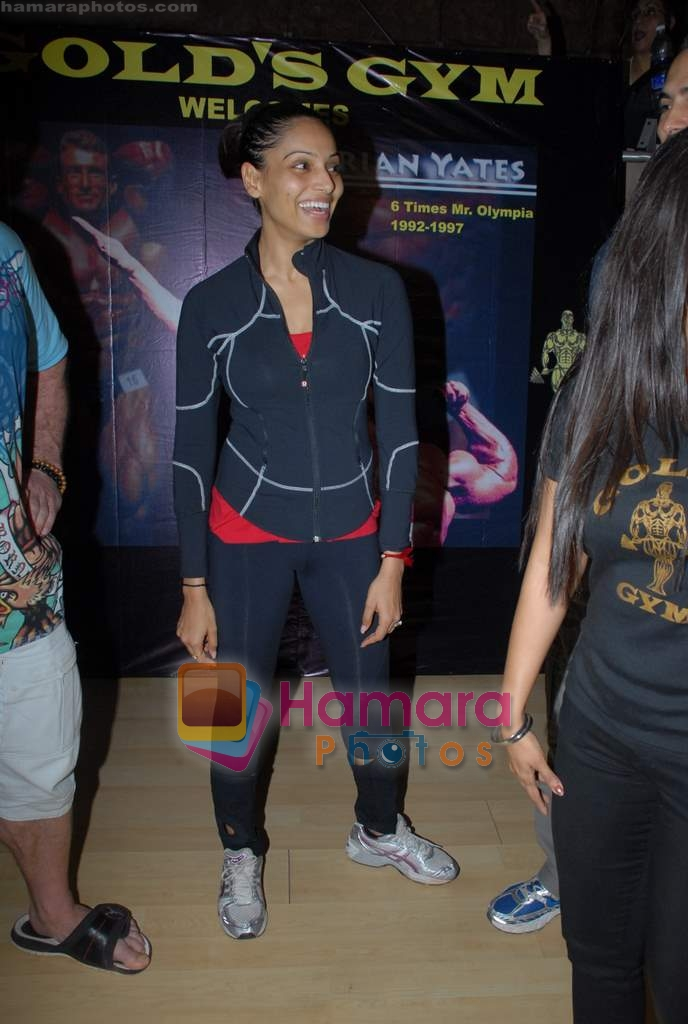 Bipasha Basu at Gold Gym event in Bandra on 23rd March 2009