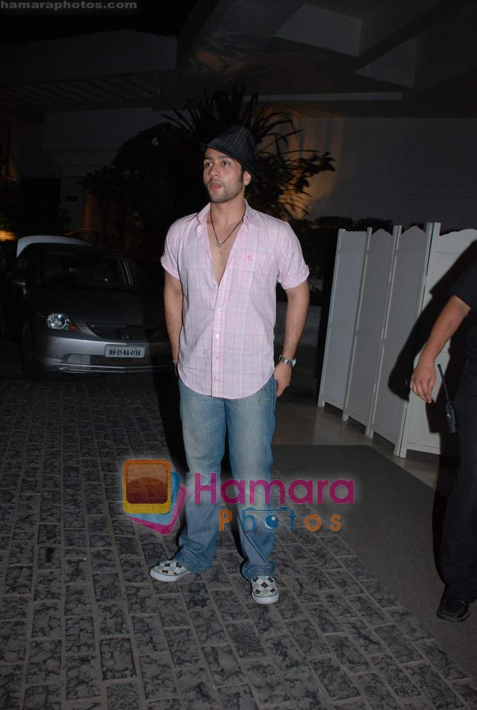 Adhyayan Suman at Kangana's birthday bash in Bling on 23rd March 2009