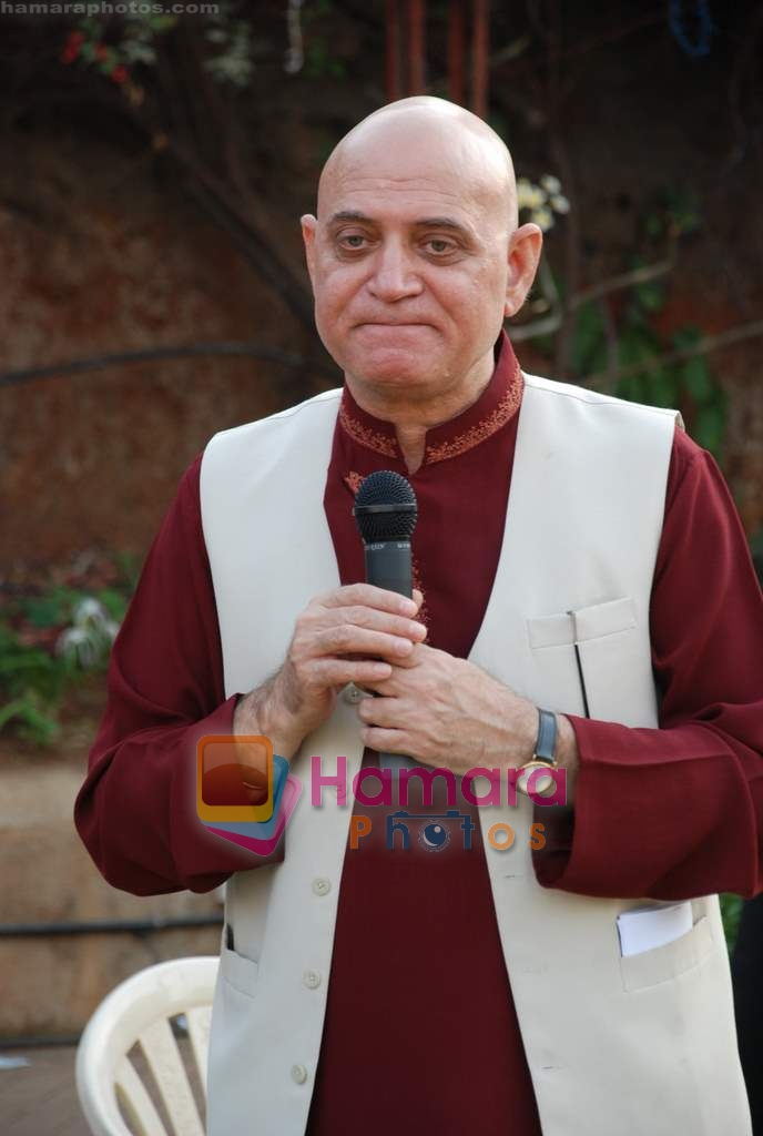 Dr Madan Kataria of Laughter Club at Sab Tv event in Country Club on 23rd March 2009