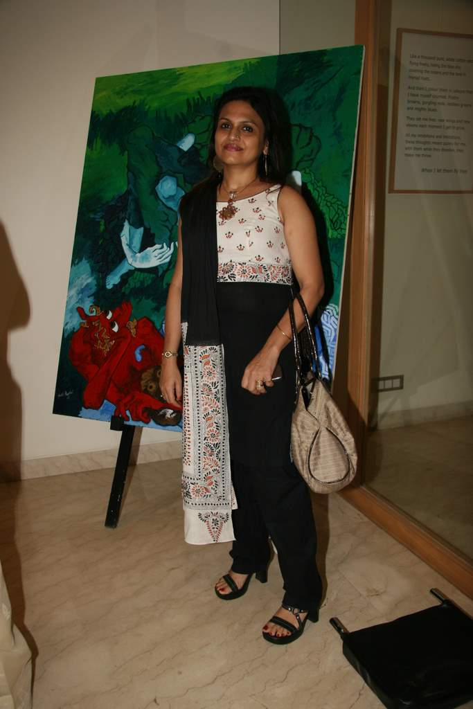 Ananya Banerjee at Shobojit Kaushal art event organised by CPAA in Worli on 23rd March 2009